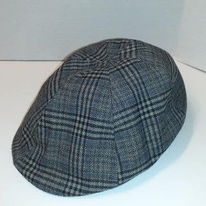 3 for $25- Lady's Flat Cap- Grey Check Size 58cm
